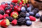 Photo: A variety of fresh berries